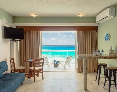 Suite Turquesa Frente al Mar Zona Hotelera en Cancún