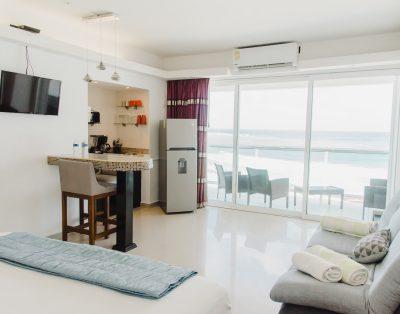 Suite One Frente al Mar Zona Hotelera en Cancún