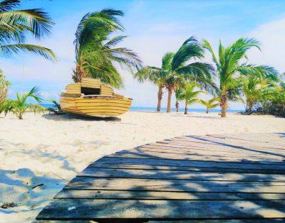 House Lu Beach Front / Puerto Morelos